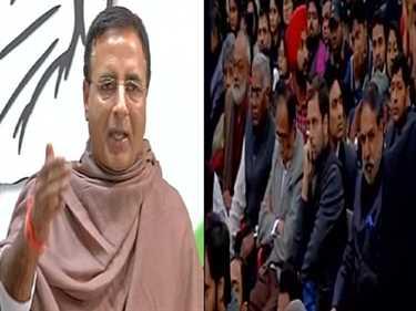 Congress leader ,former central minister ,Anand Sharma ,campus,JNU,आनंद शर्मा,हमला,कांग्रेस,लोकतंत्र