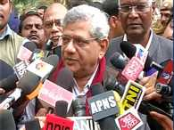 Staram yechury  and d raja  meet rajnath singh over JNU matter