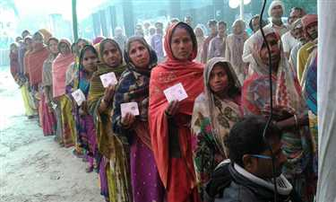 BY election in harlakhi Constituency, voting is going on
