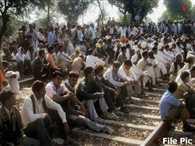 Jatt protest for reservation on railway track