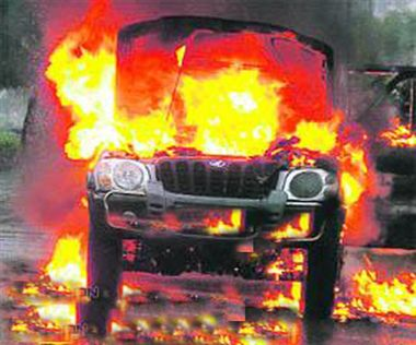 Dadri row turn violent