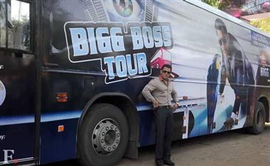 Salman Khan Launches Bigg Boss Tour Bus in Lonavala