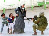 The extent of the pain undergone Palestine