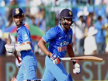 Rohit speaks on Rahane and Kohli batting order