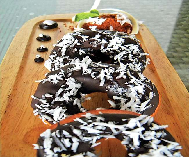 CHOCONUT DOUGHNUT
