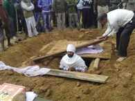A man took samadhi in Jashpur