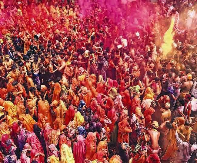 Braj Holi is full of devotion