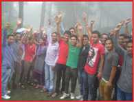 protest by students