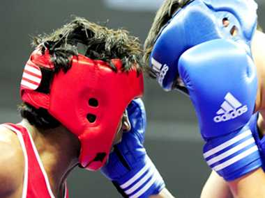 Mandeep and Akhil Teacher student Boxing pair to feature in Asian games