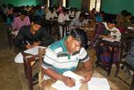 163 students gave bed exam