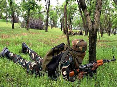 Two terrorists are killed in Kulgam after 16 hour log gun battle