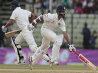 Dhawan and Vijay have to build a strong partnership on second day