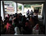महिला समूहों को दिलाया गया नए भारत के निर्माण का संकल्प