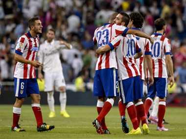 Atletico madrid defeat star team Real Madrid