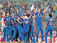Mumbai Indians and Southern Express match was full of twists