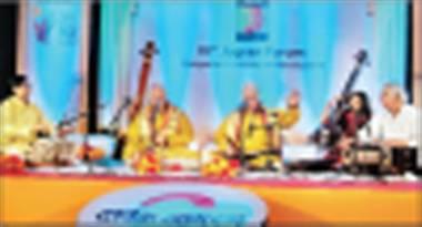 jagran forum evening revolves around music