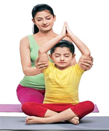 Playfully learn yoga