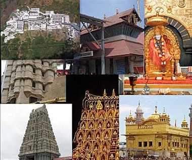 Let us know which of the ten richest Hindu temple in India ....
