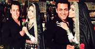 Who kissed Salman Khan on Valentines' Day?