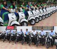 Teachers who pass the Test  get Activa 60, 15 bikes in gift