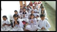 एक सुर में गूंजा शिशु विद्या मंदिर का वंदना गीत