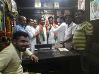 भाजपा एससी मोर्चा की टीम का गठन