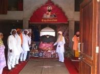 चोरों ने किया मंदिर की गोलक पर हाथ साफ