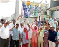 बसपा नेताओं ने मांगा यूपी के सीएम का इस्तीफा