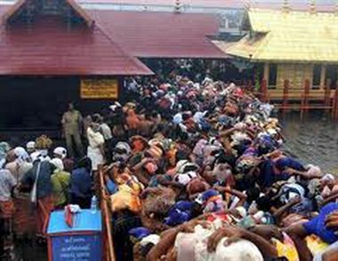 Bankebihari temple stampede, a dozen injured