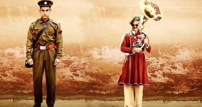 Third PK Poster: Aamir Khan Wears Khaki, Sanjay Dutt is New Bandwala