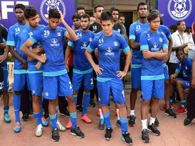 UAE defeat Indian football team by 5-0