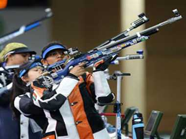 Indian women shooters bad form continues