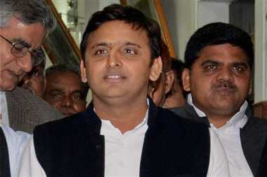 akhilesh yadav happy in by poll