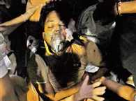 Naxal attack on police searching team in gadchiroli