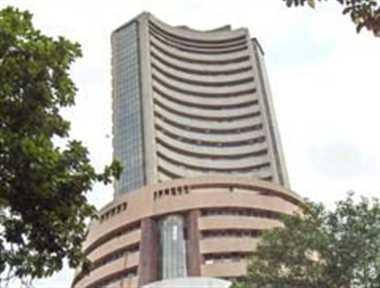 Sensex falls over 100 pts