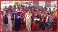 Asha workers protest against polio campaign