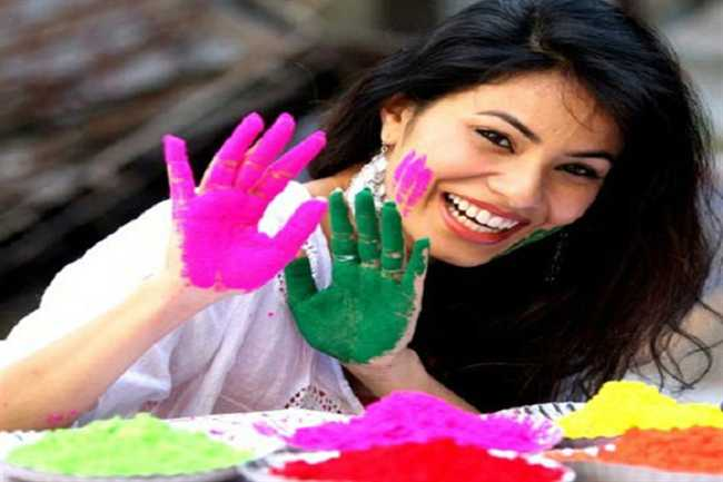 Beauty tips for Holi