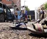 ढाका में रेपिड एक्शन बटालियन कैंप के बाहर आत्मघाती हमला