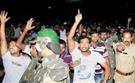 Beef festival turns Osmania into battlefied, student stabbed