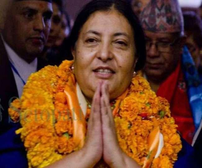 Image result for भारत दौरे के लिए रवाना हुईं नेपाल की राष्ट्रपति विद्या देवी भंडारी