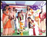 कस्तूरबा गांधी आवासीय विद्यालय में भी मना स्वतंत्रता दिवस