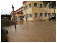दो दर्जन विद्यालयों में घुसा गंडक का पानी