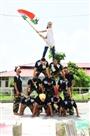 स्कूलों में धूमधाम से मनाया स्वतंत्रता दिवस