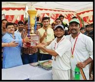 रेंजर्स को हराकर टीएचआरसी ने जीती ट्रॉफी