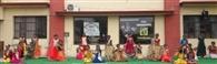 बच्चों को दी श्री कृष्ण जी के जीवन संबंधी जानकारी