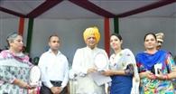 नेहरू युवा केंद्र का सम्मान किया