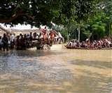उत्तर प्रदेश के बाढ़ पीड़ितों 22 जिलों में पहुंचने लगी राहत