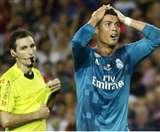 पांच मैचों का बैन हटाने की रोनाल्डो की अपील हुई खारिज