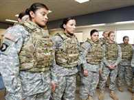 Punjabi girls in American army