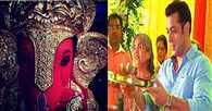 Salman Khan,  sister Arpita bring Ganpati home, get special chocolate modaks for guests